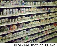 vitamins on store shelves