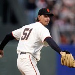 San Francisco Giants starting pitcher, Randy Johnson, stays in the game with acupuncture. Credit: ©2009 S.F. Giants