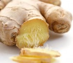 Traditional Chinese Medicine ginger root