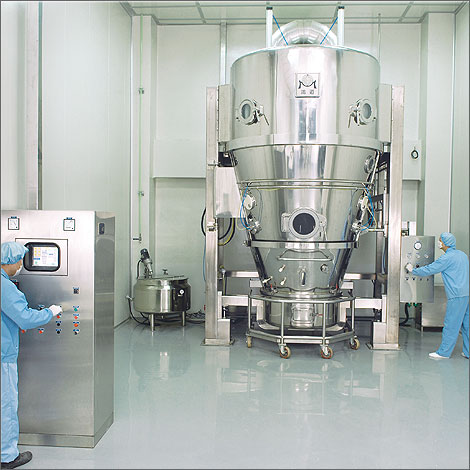 Herb granule machine