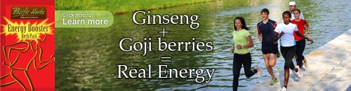 Chinese herbs natural energy