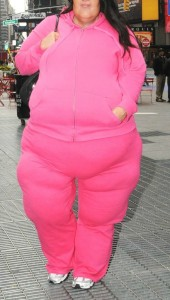 fat in pink