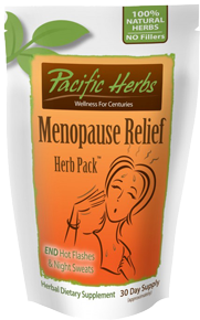 Menopause Relief Herb Pack