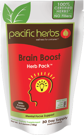 Brain Boost Herb Pack