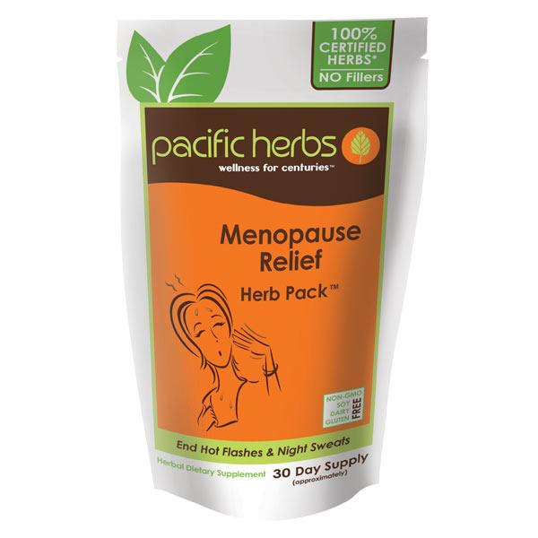 Menopause Relief Herb Pack Pacific Herbs