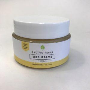 CBD Topical Salve - Pacific Herbs